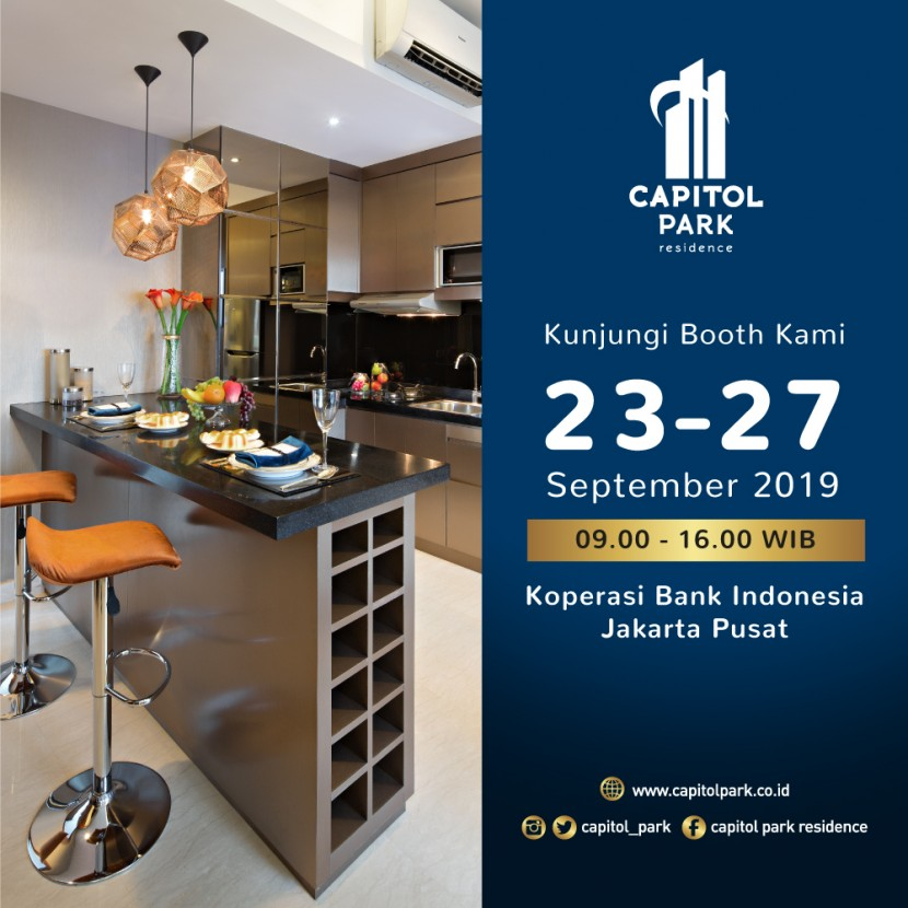 Capitol park residence salemba jakarta pusat - Open Booth FASOS - Sep 19