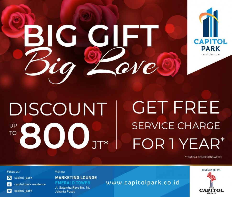 Capitol park residence salemba jakarta pusat - Big Gift Big Love - Feb 2019