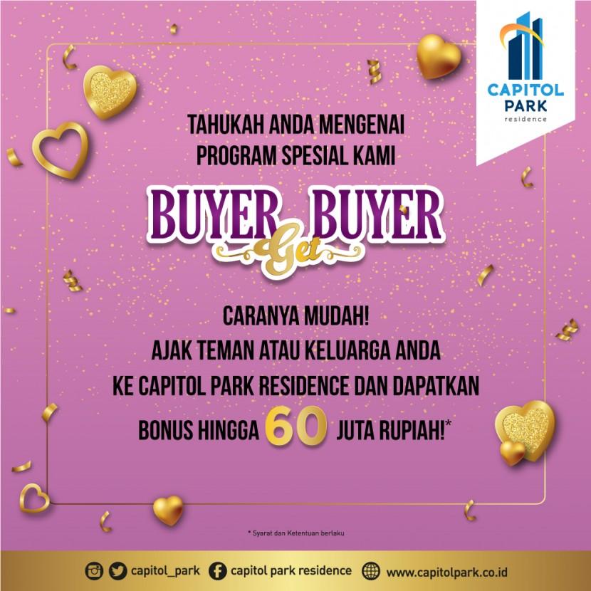 Capitol park residence salemba jakarta pusat - Buyer Get Buyer - Feb 2020