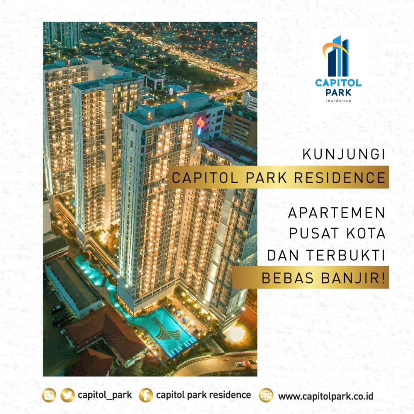 Capitol park residence salemba jakarta pusat - Our Booth - Feb 2020