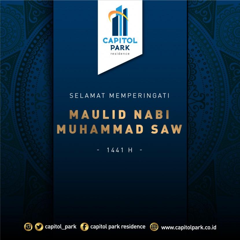 Capitol park residence salemba jakarta pusat - Maulid Nabi Muhammad SAW - Nov 2019