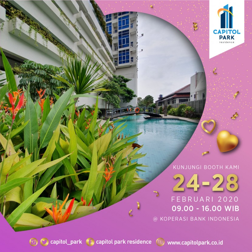 Capitol park residence salemba jakarta pusat - Open Booth BI - Feb 2020