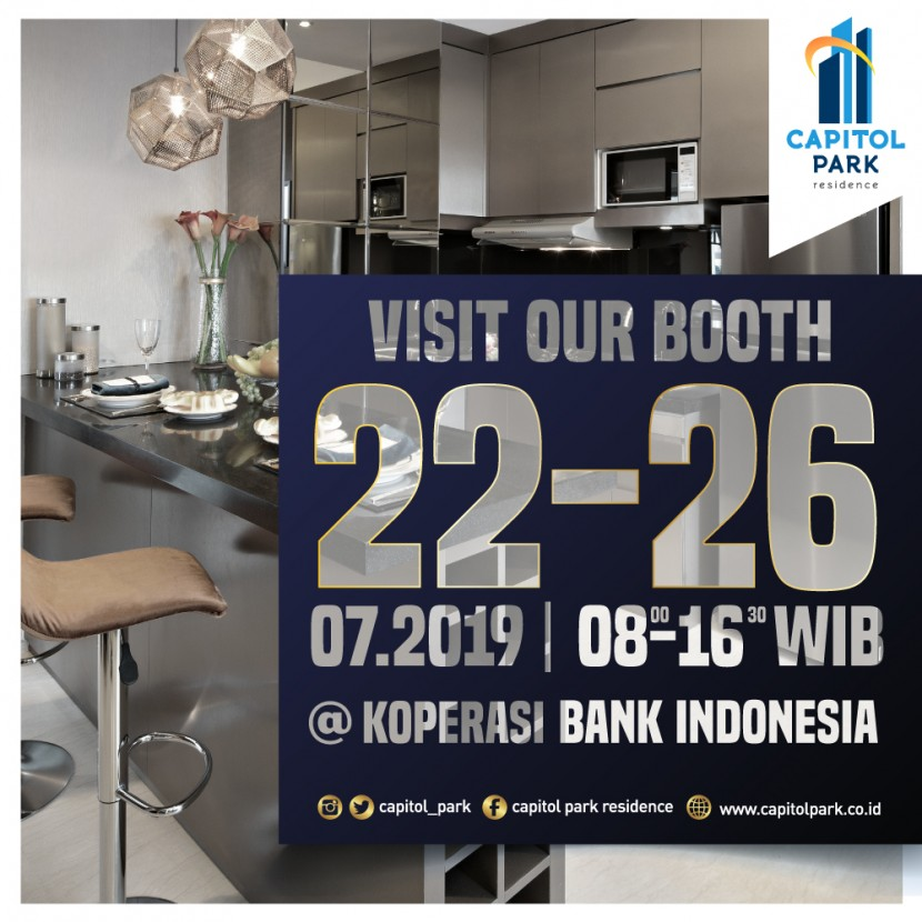 Capitol park residence salemba jakarta pusat - Our Booth - July 2019