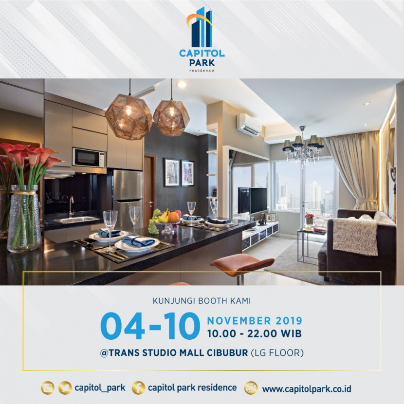 Capitol park residence salemba jakarta pusat - Our Booth - Nov 2019