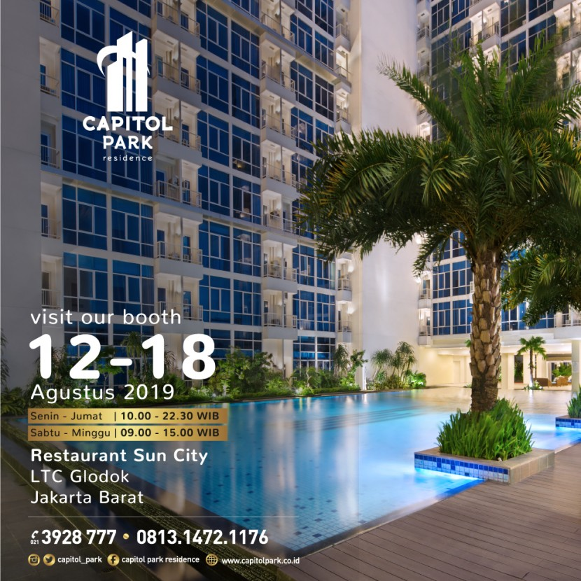 Capitol park residence salemba jakarta pusat - Our Booth - Aug 2019