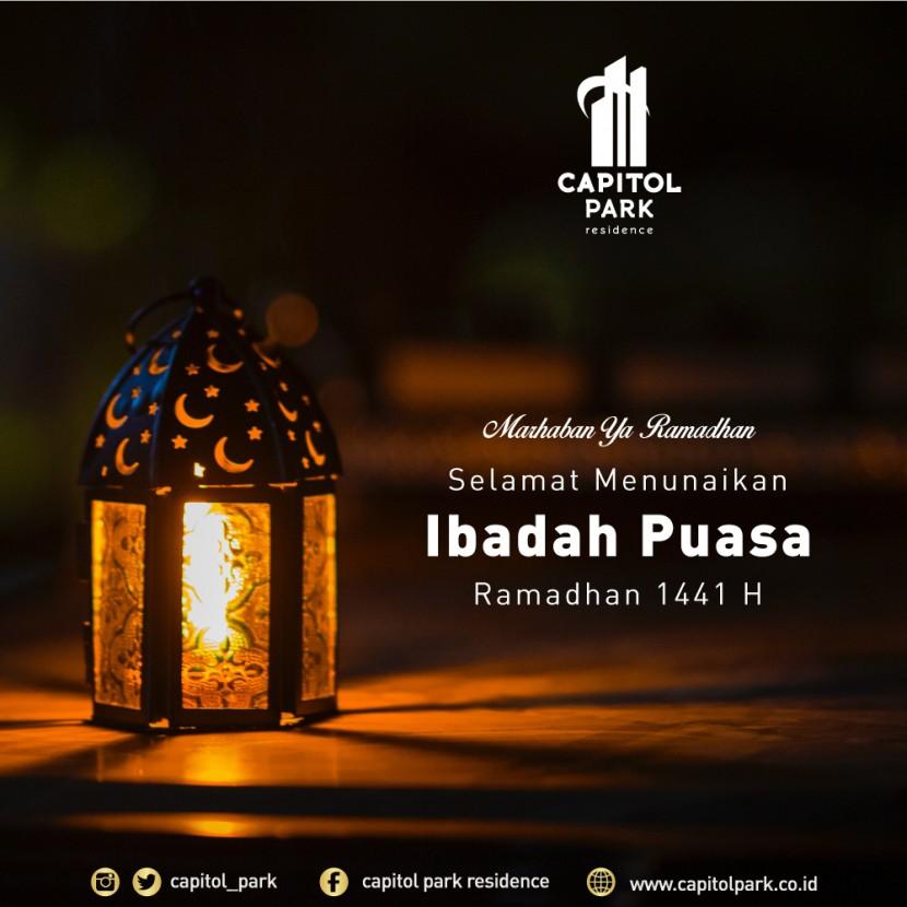 Capitol park residence salemba jakarta pusat - Ramadhan 1441H - April 2020