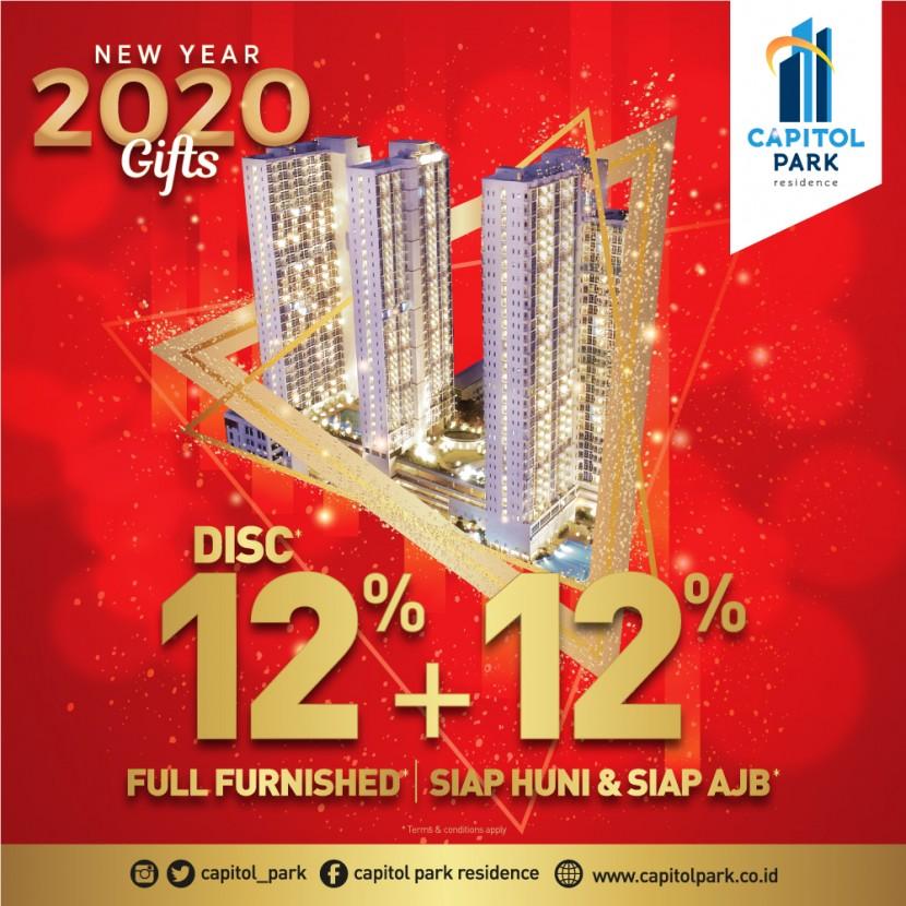 Capitol park residence salemba jakarta pusat - New Year Gift - Jan 2020