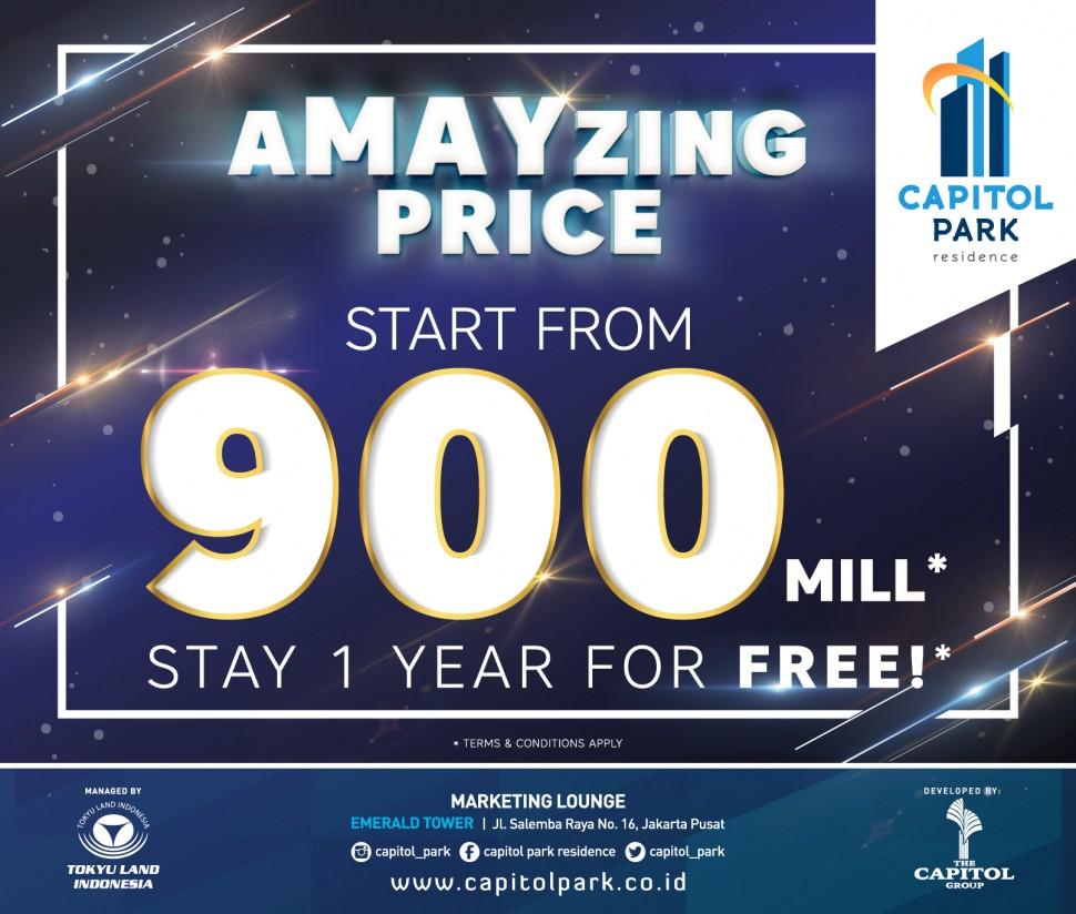 Capitol park residence salemba jakarta pusat - aMAYzing Prices - May 2019