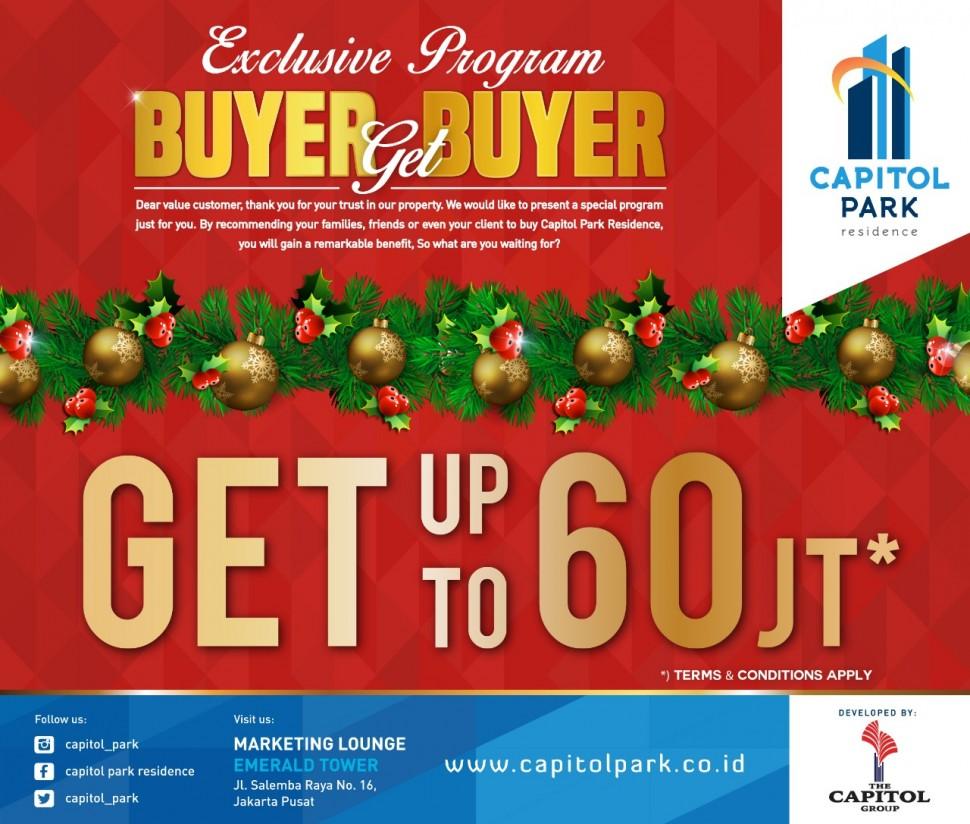 Capitol park residence salemba jakarta pusat - Buyer Get Buyer Dec 2018
