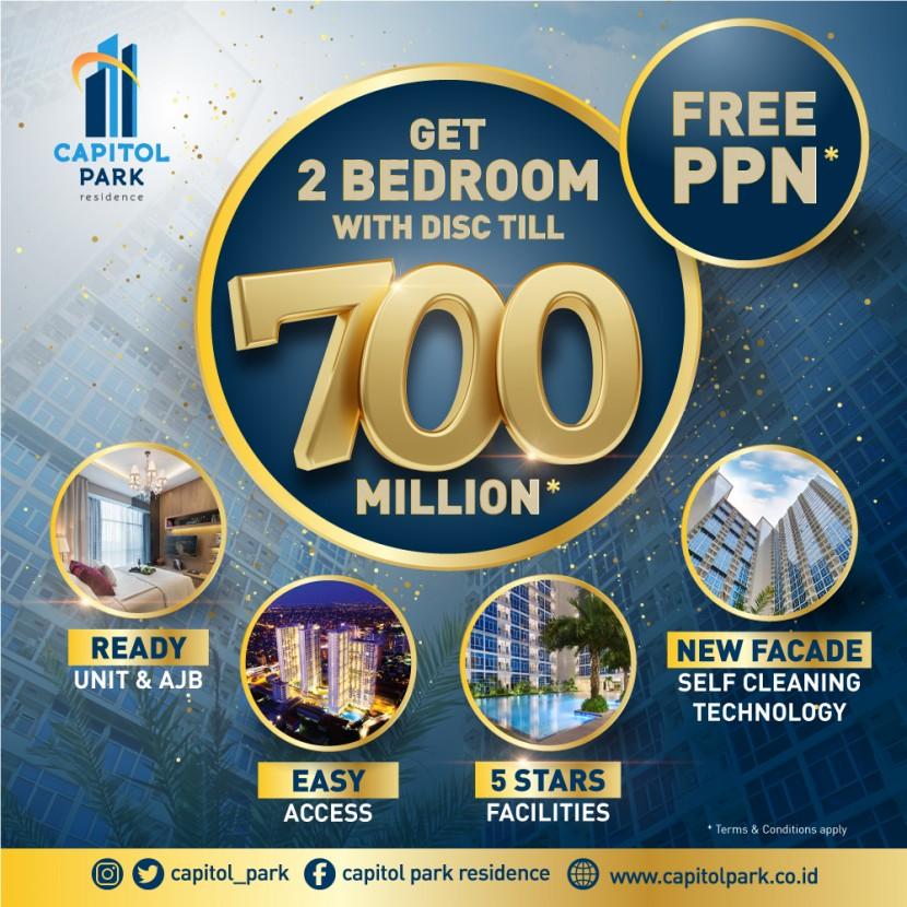 Capitol park residence salemba jakarta pusat - FREE PPN - APRIL 2021