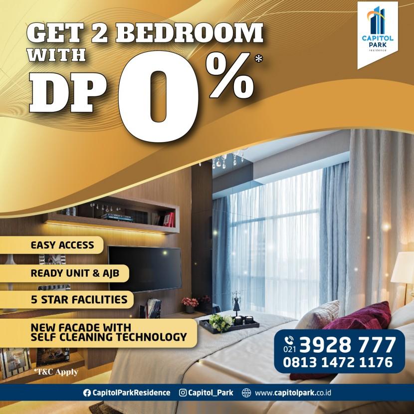 Capitol park residence salemba jakarta pusat - DP 0% - March 2021