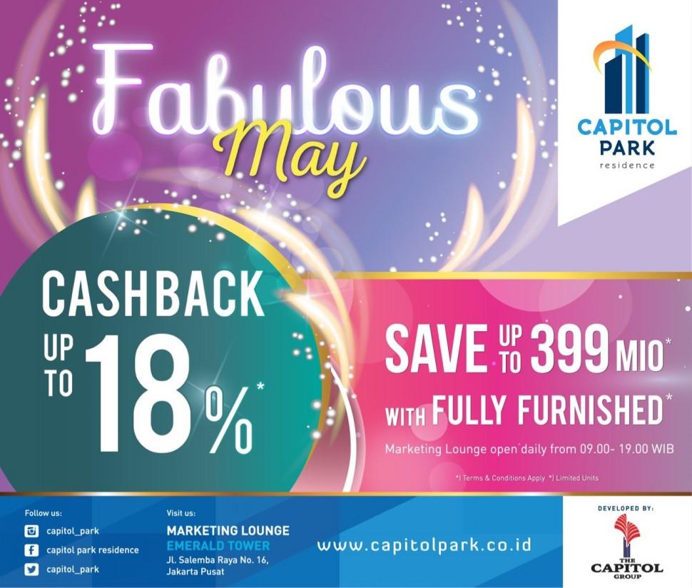 Capitol park residence salemba jakarta pusat news - Extra Cashback  - May 2018