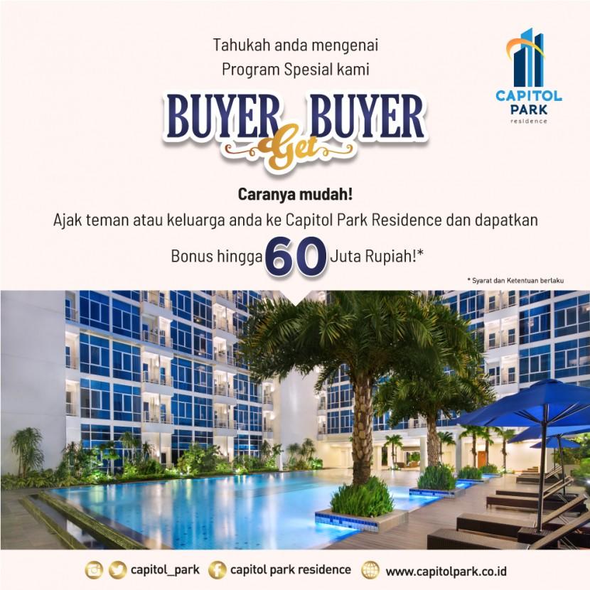 Capitol park residence salemba jakarta pusat - Buyer Get Buyer - July 2020