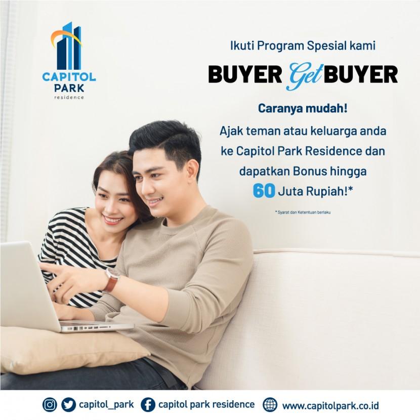 Capitol park residence salemba jakarta pusat - Buyer Get Buyer - Nov 2020
