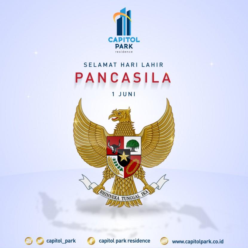 Capitol park residence salemba jakarta pusat - Pancasila's Day - June 2020