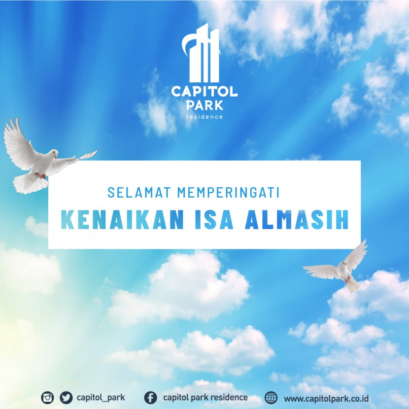 Capitol park residence salemba jakarta pusat - Ascension Day - May 2020
