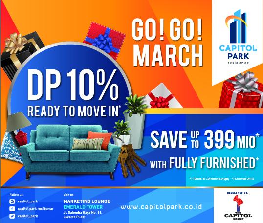 Capitol park residence salemba jakarta pusat news - GO! GO! MARCH!