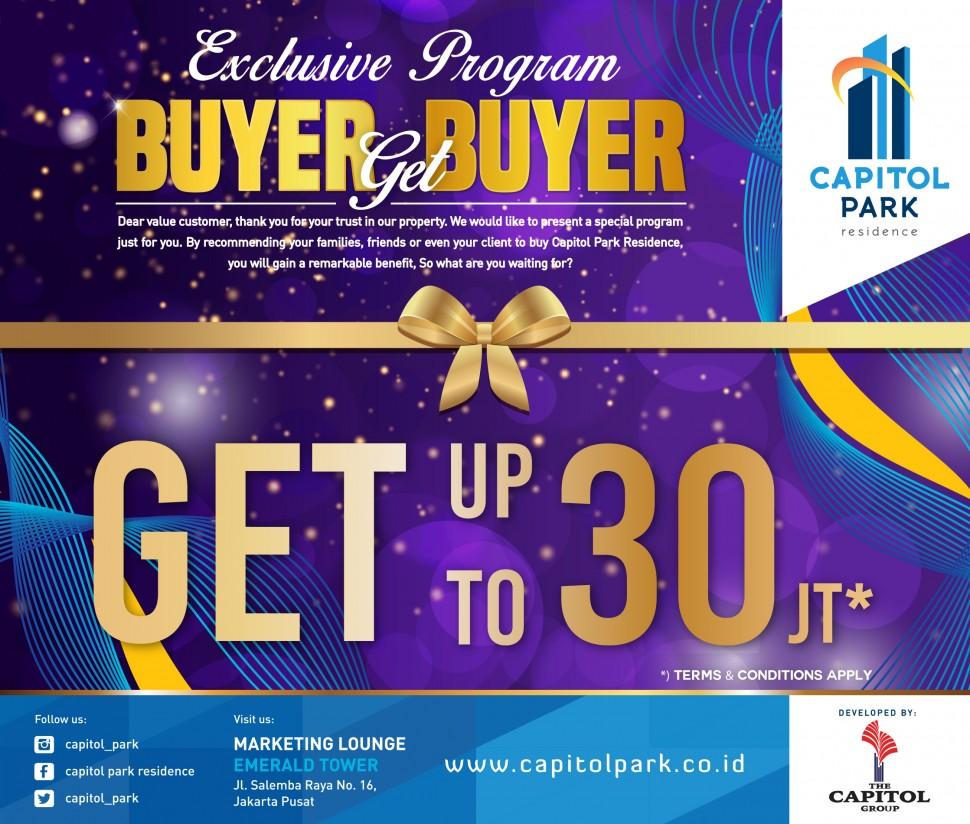 Capitol park residence salemba jakarta pusat - Buyer Get Buyer - Nov 2018