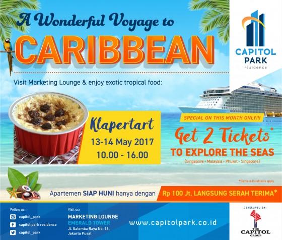 Capitol park residence salemba jakarta pusat news - A Wonderful Voyage to Caribbean - Klappertart