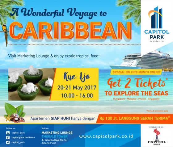 Capitol park residence salemba jakarta pusat news - A Wonderful Voyage to Caribbean - Kue Ijo