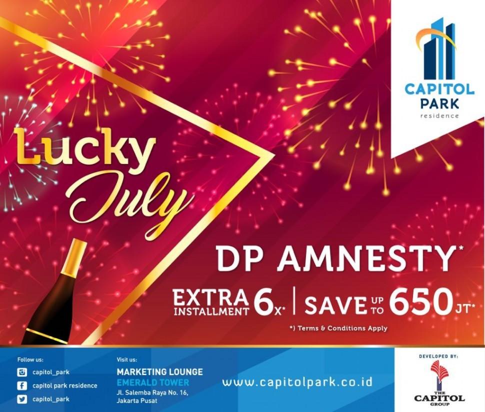 Capitol park residence salemba jakarta pusat - DP Amnesty - July 2018