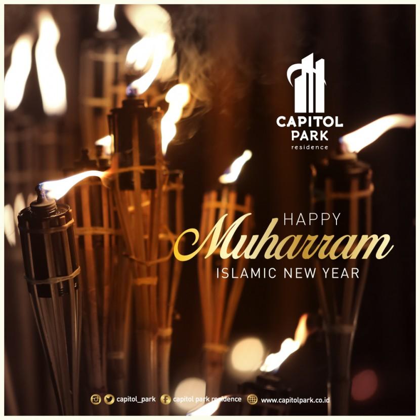 Capitol park residence salemba jakarta pusat - Happy Muharram - Sept 2019