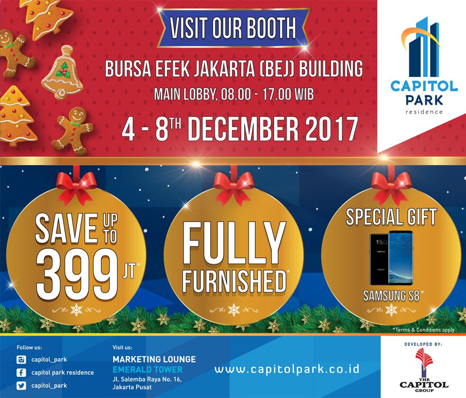 Capitol park residence salemba jakarta pusat news - Visit Our Booth At Bursa Efek Jakarta