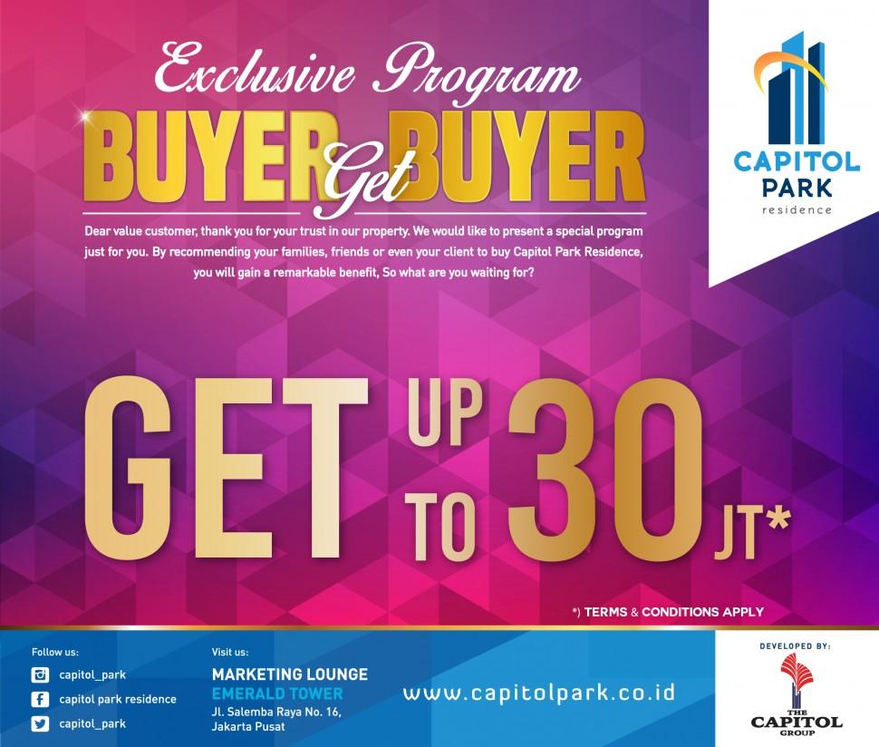 Capitol park residence salemba jakarta pusat - Buyer Get Buyer - Oct 2018