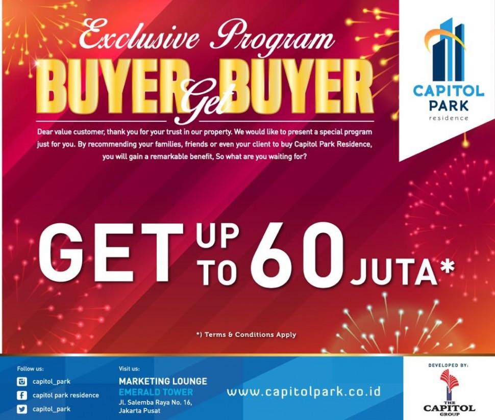 Capitol park residence salemba jakarta pusat - Buyer Get Buyer - July 2018