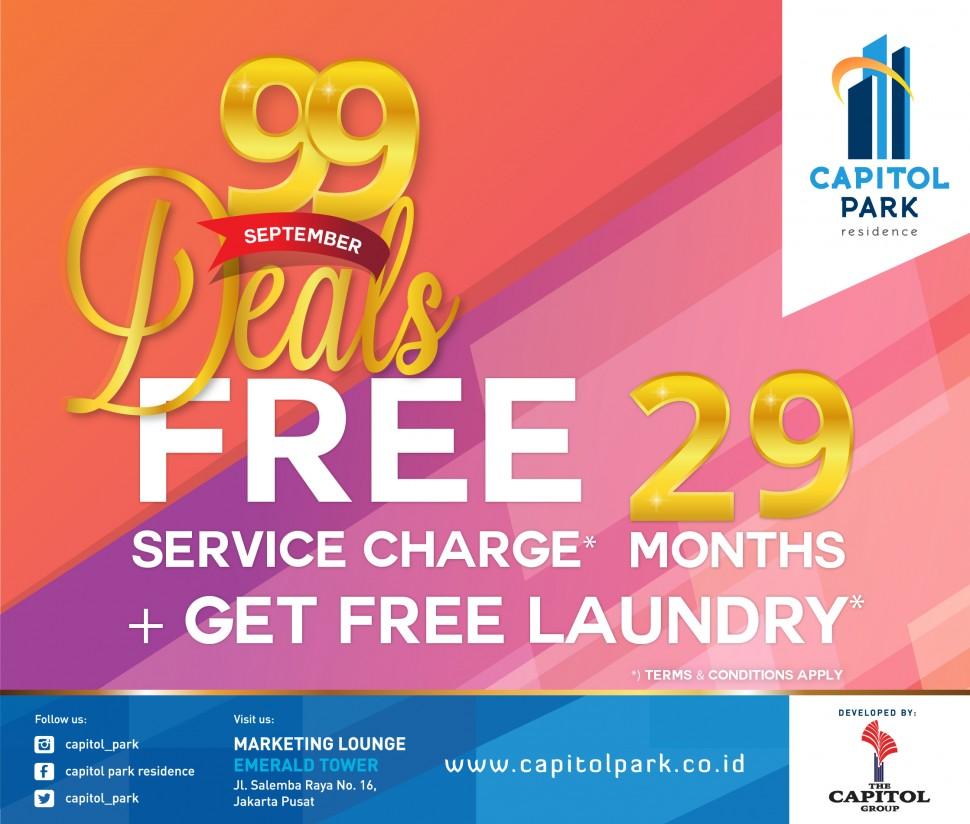 Capitol park residence salemba jakarta pusat - 99 Deals - Sept 2018