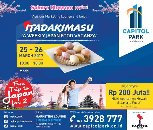 Capitol park residence salemba jakarta pusat - Japan Food Vaganza - Mochi