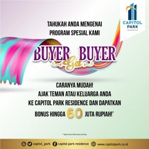 Capitol park residence salemba jakarta pusat news - Buyer Get Buyer - March 2020