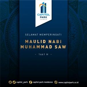 Capitol park residence terjangkau siap huni - Maulid Nabi Muhammad SAW - Nov 2019