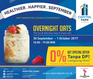 Capitol Park News - Overnight Oats