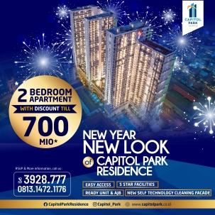 Capitol Park News - New Year Promo - Jan 2021