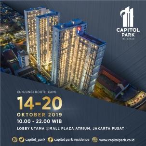 Capitol park residence terjangkau siap huni - Exhibition - Oct 2019
