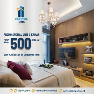 Capitol park residence salemba jakarta pusat news - Special Promo - June 2020