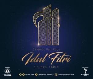 Capitol park residence salemba jakarta pusat news - Happy Eid Mubarak - June 2019