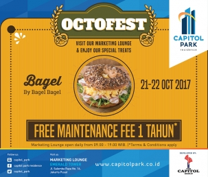 Capitol Park News - Octofest - Bagel