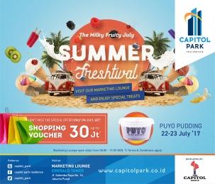 Capitol Park News - Summer Freshtival - Puyo Pudding