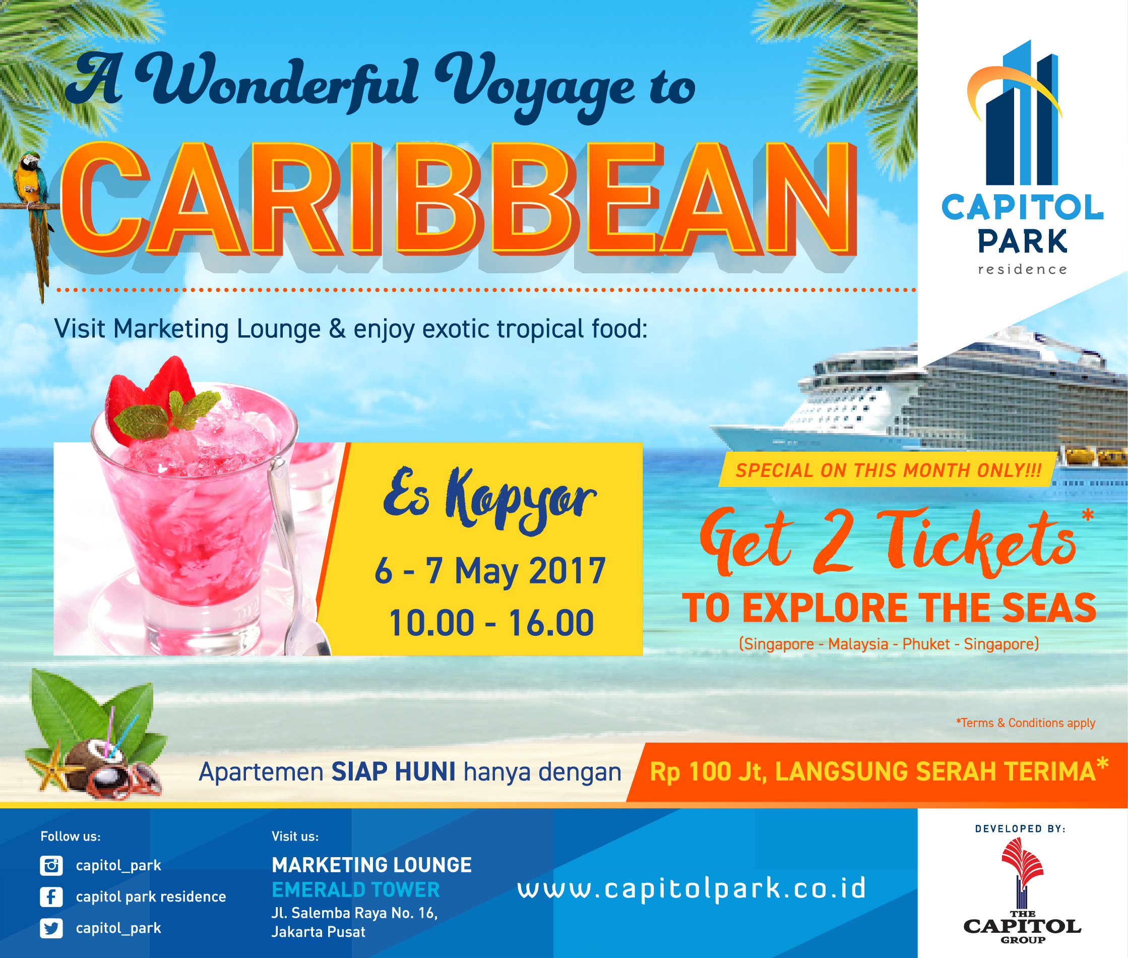 Capitol Park News - A Wonderful Voyage to Caribbean