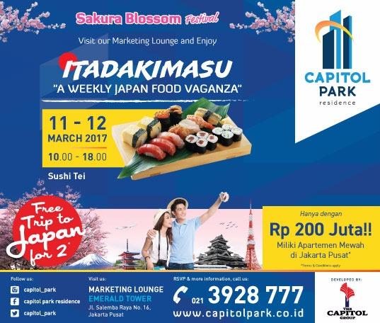 Capitol park residence salemba jakarta pusat news - Sakura Blossom Festival