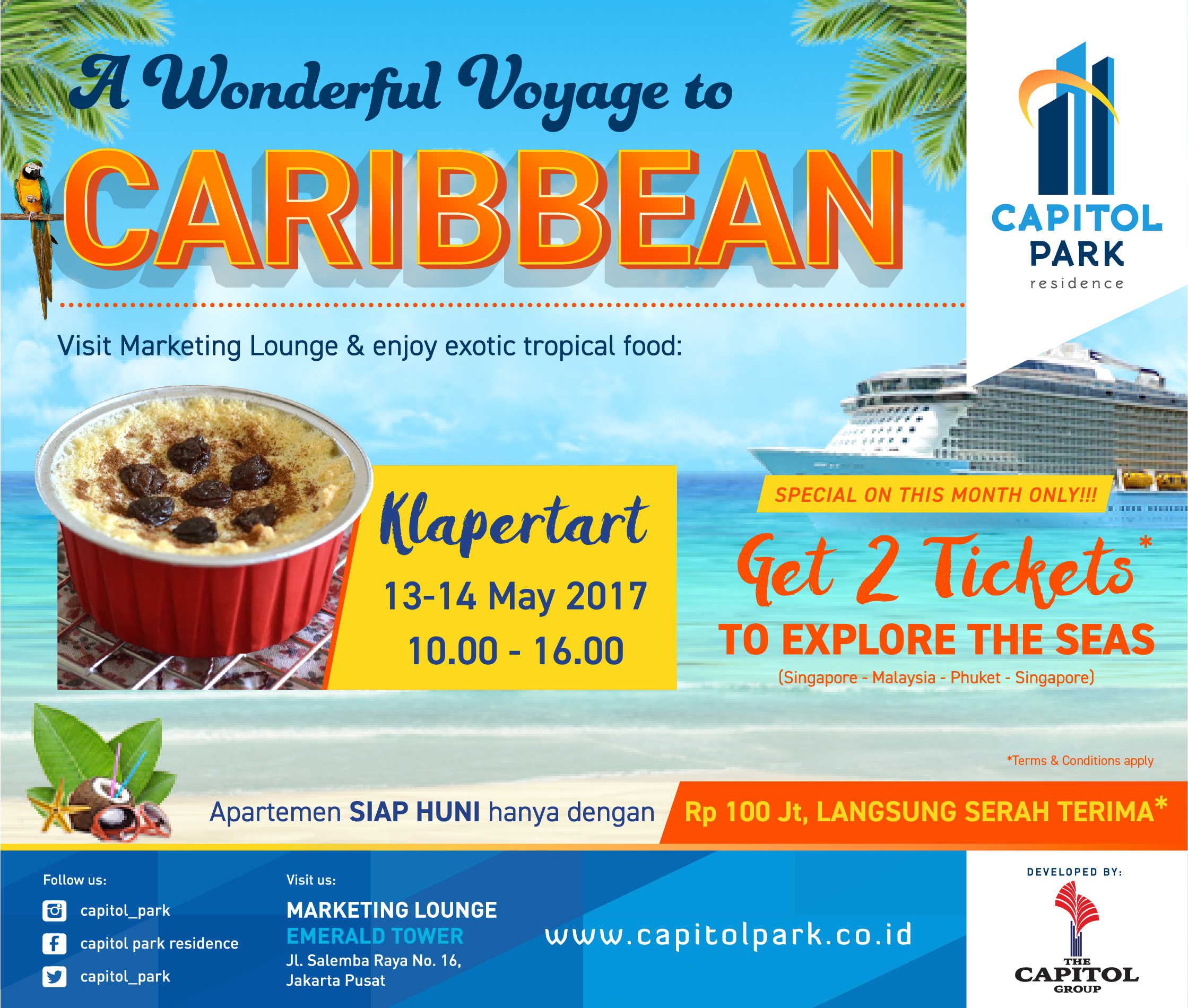 Capitol Park News - A Wonderful Voyage to Caribbean - Klappertart