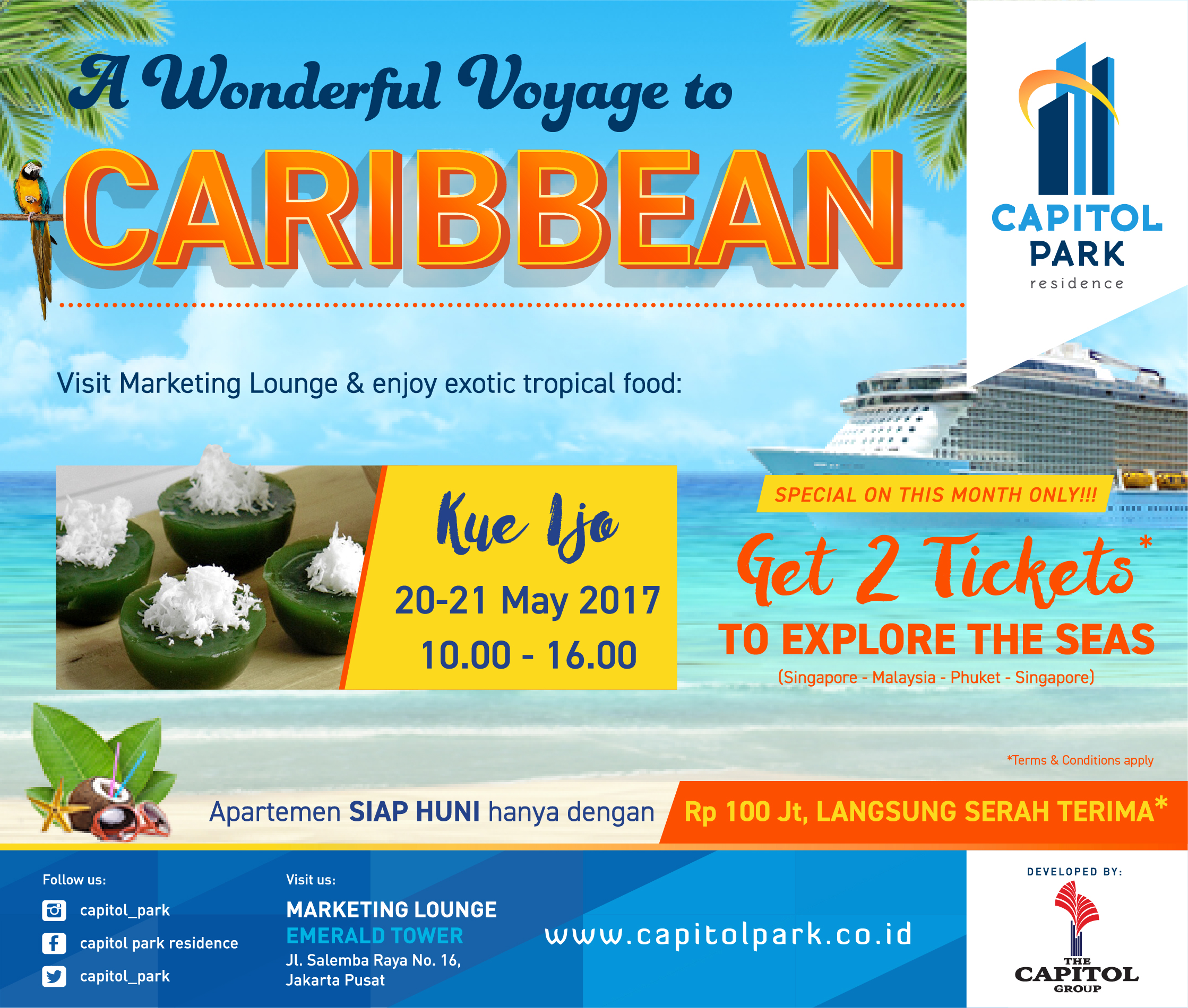Capitol Park News - A Wonderful Voyage to Caribbean - Kue Ijo