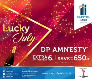 Capitol park residence salemba jakarta pusat news - DP Amnesty - July 2018