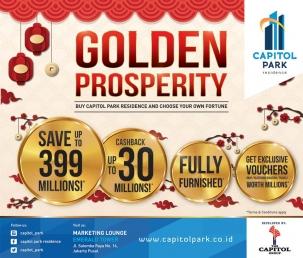Capitol park residence terjangkau siap huni - Golden Prosperity - Buy Capitol Park Residence