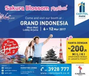 Capitol park residence salemba jakarta pusat news - PAMERAN CPR DI GRAND INDONESIA