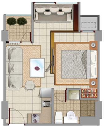 Sewa apartemen Maps BST